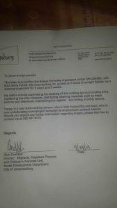 Happy Simwaka Reference Letter